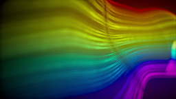 Loopable multicolored animated abstract background Stock Video Footage