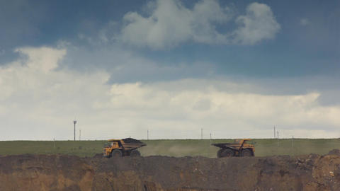 Coal production Footage