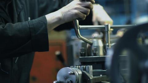 Old milling machine Footage