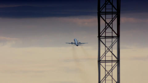 Take off Stock Video Footage