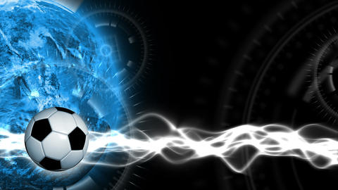 Soccer World Background 43 (HD) Animation