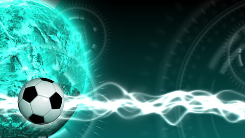 Soccer World Background 45 (HD) Animation