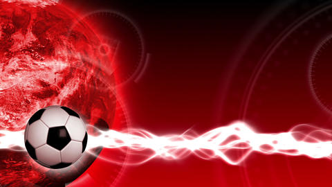 Soccer World Background 47 (HD) Stock Video Footage