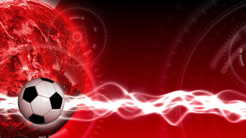 Soccer World Background 47 (HD) Animation
