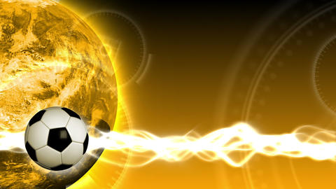 Soccer World Background 49 (HD) Stock Video Footage