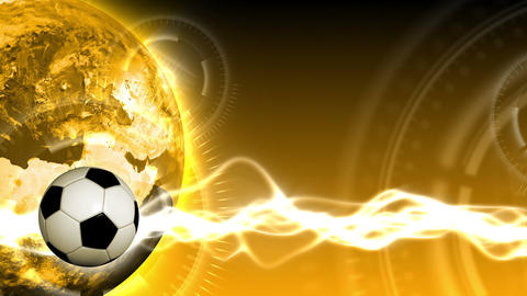Soccer World Background 49 (HD) Animation