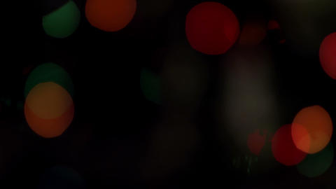 Background christmas lights Stock Video Footage