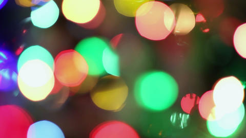 Background christmas lights Footage