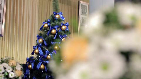 Wedding & Christmas decorations Stock Video Footage