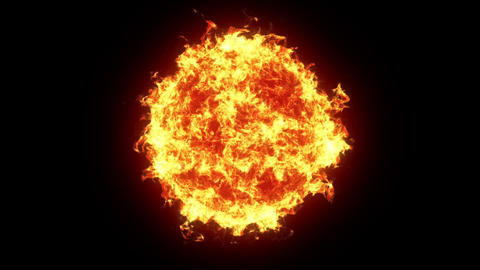Fire ball Stock Video Footage