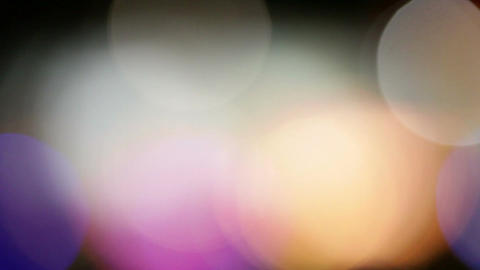 Abstract blink bokeh lights Stock Video Footage