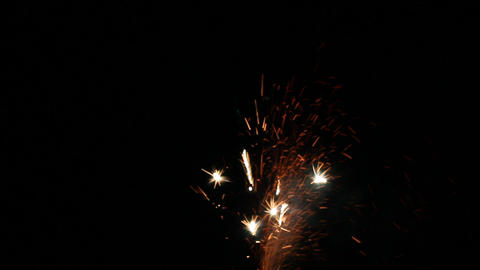Fireworks Foutain 9 Stock Video Footage