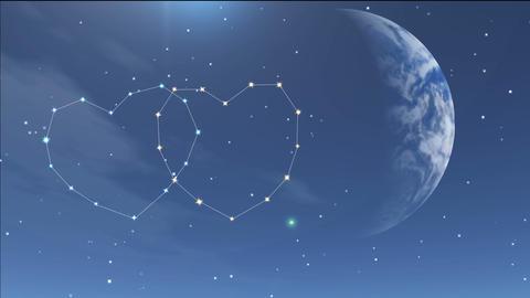 romantic night 7 Stock Video Footage