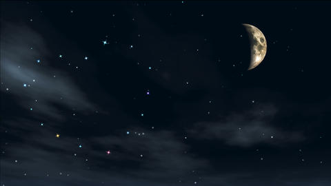 romantic night 9 Stock Video Footage
