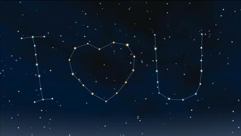 romantic night 11 Stock Video Footage