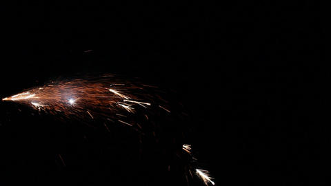 Fireworks Foutain 10 Stock Video Footage