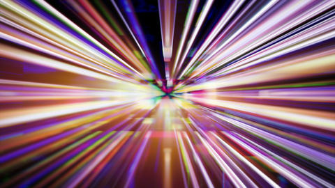 Futuristic technology light abstraction - Light FX2123... Stock Video Footage