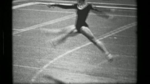 1967: Athlete #12 (part 2 of 2) jump rope competition 3rd Women's Modern Rhythmi Live Action
