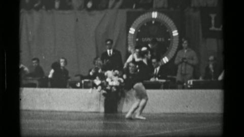 1967: Athlete #37 jump rope competition 3rd Women's Modern Rhythmic Gymnastics W Live Action