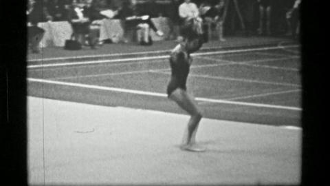 1967: Athlete #4 (part 1 of 2) jump rope competition 3rd Women's Modern Rhythmic Live Action