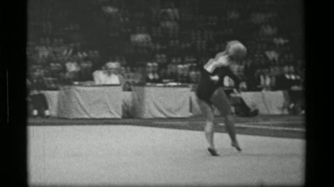 1967: Athlete #31 freehand competition 3rd Women's Modern Rhythmic Gymnastics Wo Live Action