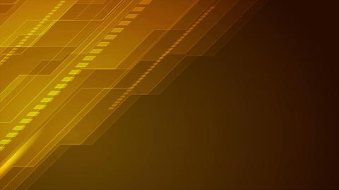 Orange blue technology futuristic video animation GIF