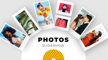 Slideshow Modern Photos After Effects Template