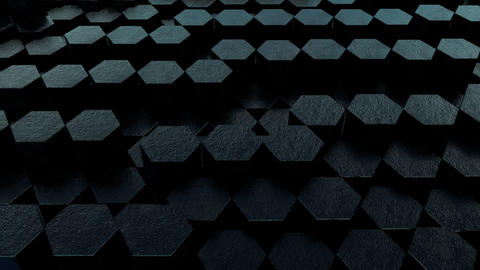 Black hex loop 4 Animation