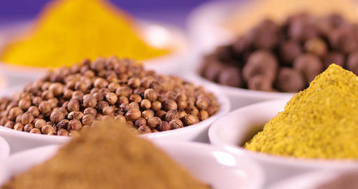 Spices, Cooking ingredient Footage