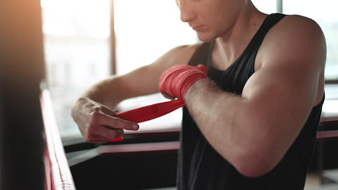 Hands Protection in Boxing Live Action