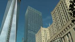 New York 338 Manhattan Ground Zero One World Trade Center construction site Footage