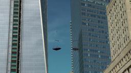 New York 340 Manhattan Ground Zero One World Trade Center construction site Footage