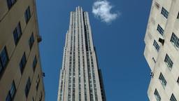 New York 220 Manhattan Rockefeller Center main building Footage