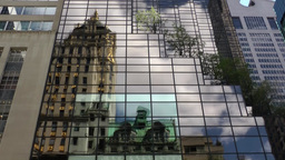 New York 237 Manhattan 5th Avenue Glass front of Trump Tower Footage