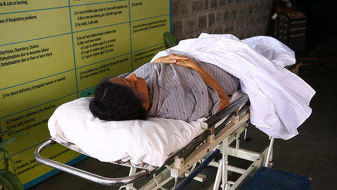 Dead Body in Grneral Hospital Live Action