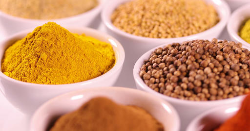 Aromatic spices, Still Life background Footage