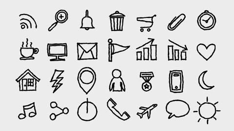 Freehand Icons Toolkit 1 Animation