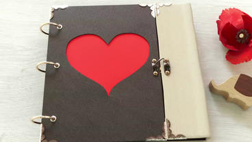 Valentine Love Photo Album After Effects Template