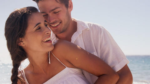 Couple having affection together Live Action