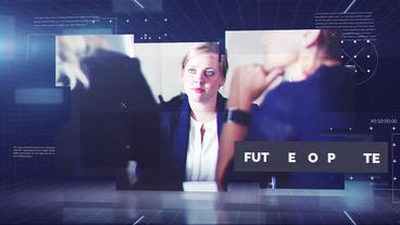 Future Corporate Plantilla de After Effects