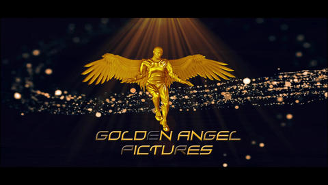 Golden Angel Logo After Effects Template