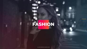Dynamic Fashion Promo Premiere Pro Template