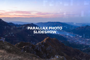 Parallax Photo Slideshow After Effects Project