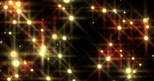 Shining Golden Stars Looped Background Animation