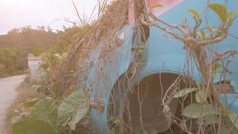Apocalyptic Abandoned Car 12 Footage