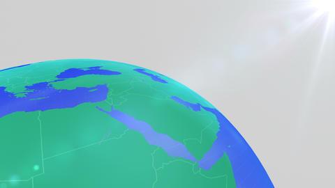 Earth CG 18 B2bw 4k CG動画