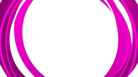 Rotating Circles intro - pink Animation