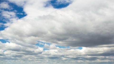 Rain clouds in sky timelapse Footage