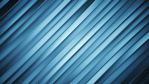 Diagonal blue lines loopable abstract 3D animation Animation