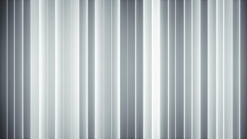 Glowing white vertical lines loopable abstract 3D animation Animation